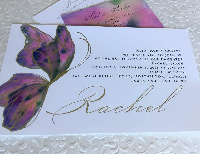 butterfly bat mitzvah