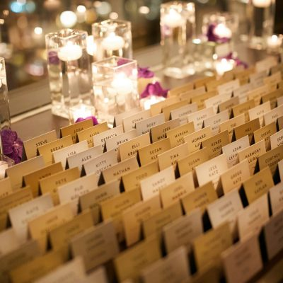 escort card display langham chicago